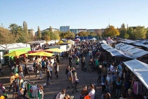 Berlin har et af de mest berømte loppemarkeder