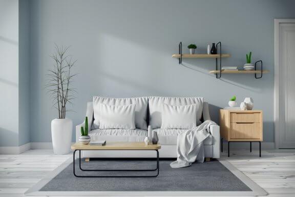 Stil fra midten af 1900-tallet kan være en god mulighed til en stue.