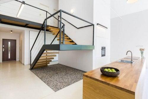 moderne trappe
