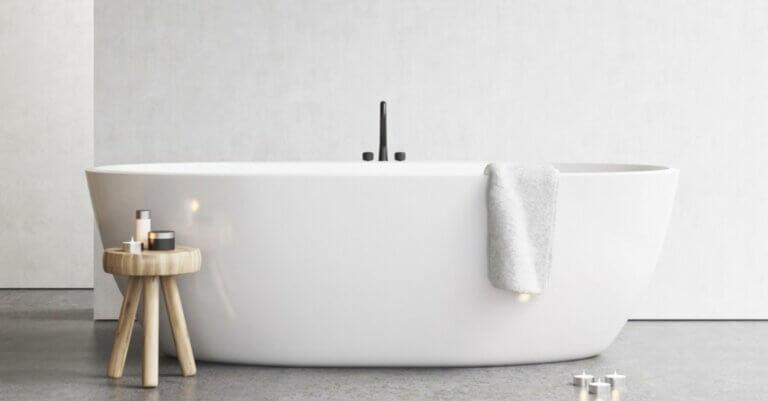 Sådan vælger du det rette badekar til dit hjem