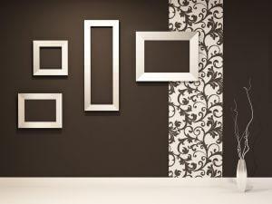 er din væg for kedelig kan du prøve at pifte den op med vægdesigns