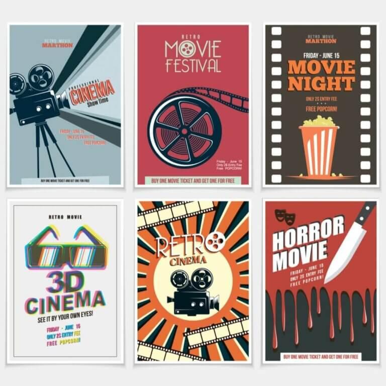 5 forslag til en biografstil i dit soveværelse