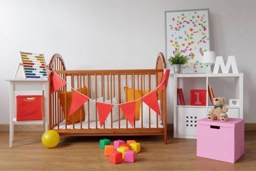 Forslag til at dekorere din babys værelse