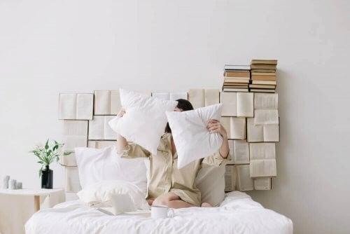 Indretning med bøger: 11 fantastiske idéer