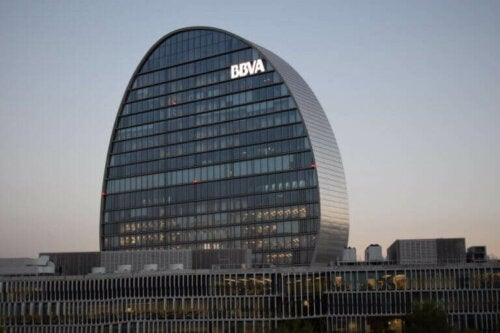 ciudad bbva er hovedkvarter for bbva-banken i madrid