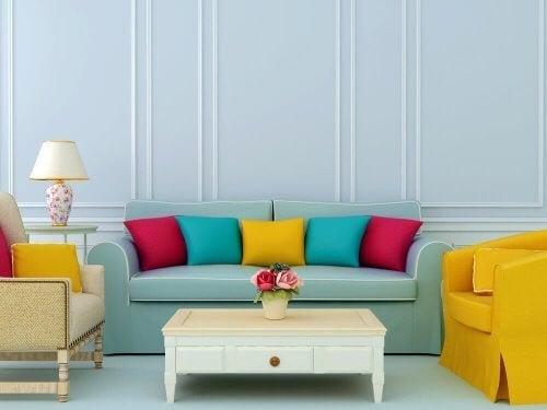 Levende farver: En trend til et flot hjem