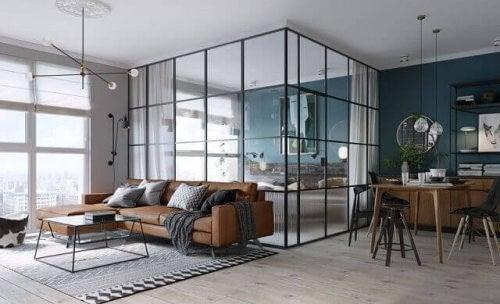 Glasvægge: Sådan vælger du dem