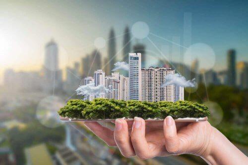 Bæredygtig arkitektur - grønne højhuse
