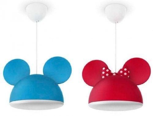 lamper til en babys soveværelse
