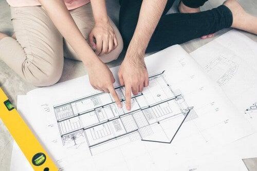 Tegning over det perfekte renoveringsprojekt