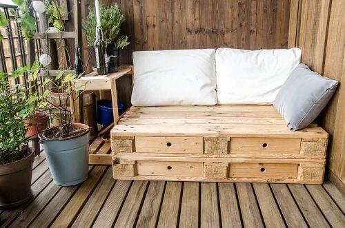 sofa af paller