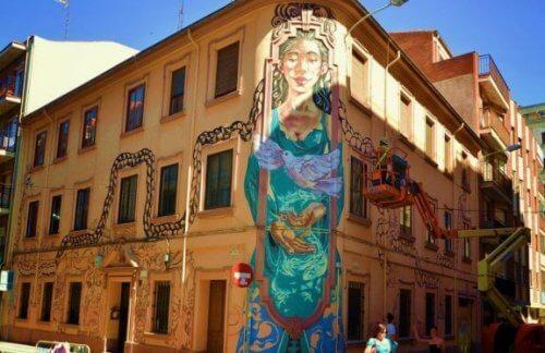 Urban kunst: en sand kilde til inspiration