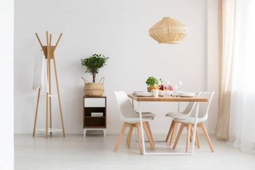 Indret din stue og spisestue i moderne stil