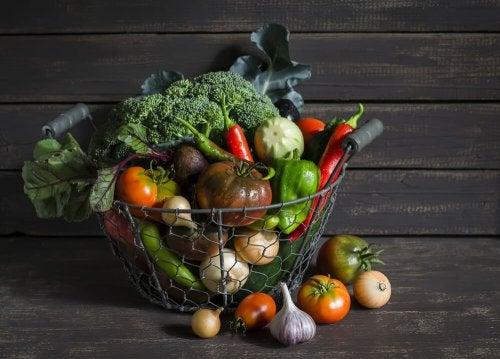 Organiser dine frugter og grøntsager med originalitet