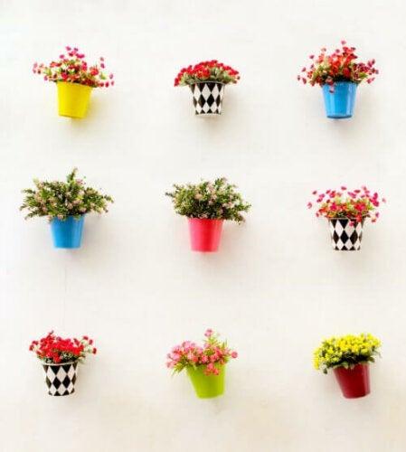 Fire trin til at personliggøre dine blomsterpotter
