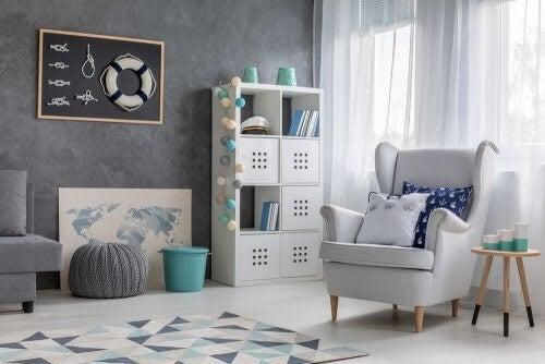 Maritim indretning: Sådan udsmykker du hjemmet