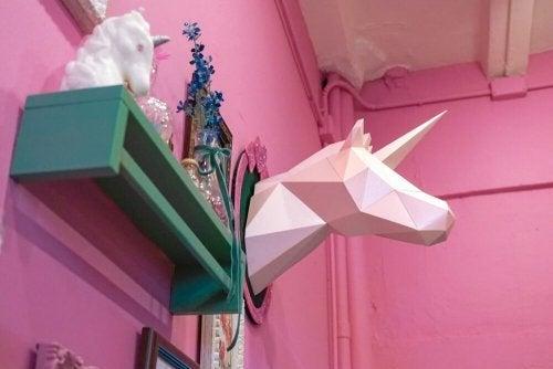 En magisk trend: enhjørninger i indretning