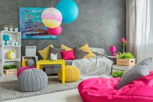 Sådan skaber du en farverig indretning