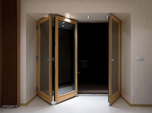 Foldedøre er døre, der kan fylde meget i hjemmet