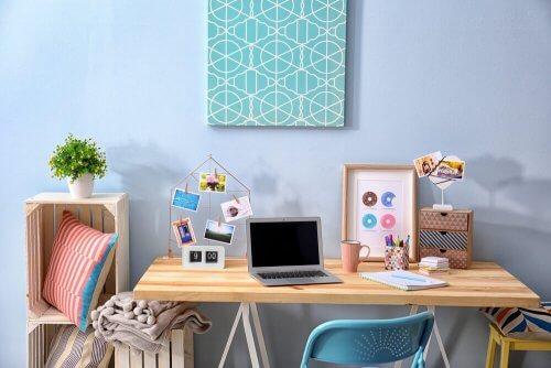 5 stilarter til dekorering af dit hjemmekontor