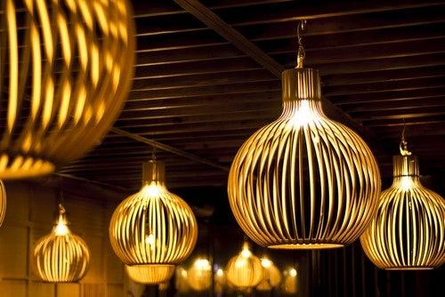 Hjemmelavede lamper er nemme at lave