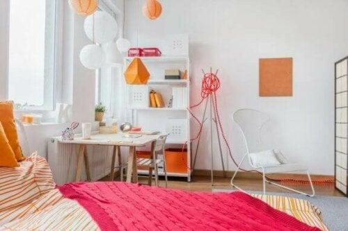 kreative lamper i sjove former er perfekte til teenageværelser