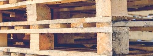 Træpaller kan bruges til mange forskellige slags hjemmeprojekter