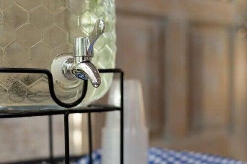 6 slags vanddispensere til dit hjem
