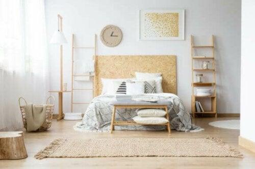 Hvordan du kan dekorere dit soveværelse med guld