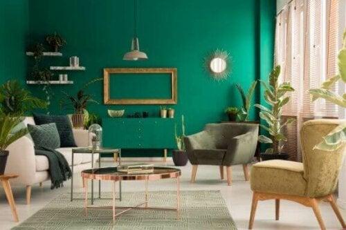 Kobbermøbler i din indretning derhjemme