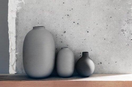Store vaser til udendørsområdet