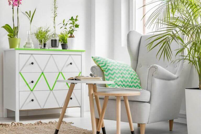 Plante og blomster kombinationer til din indretning