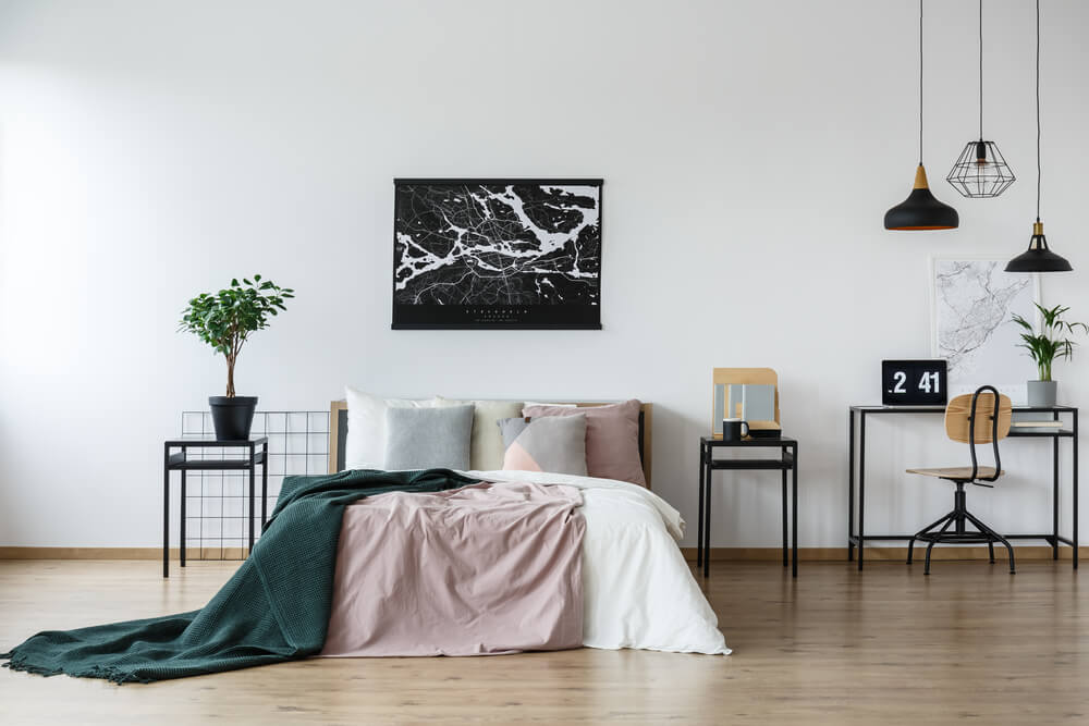 indretning af soveværelse