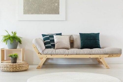 Pyntepuder, der matcher din sofa perfekt