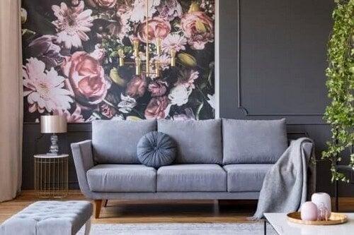 Blomstermønstre: En ny indretningstrend