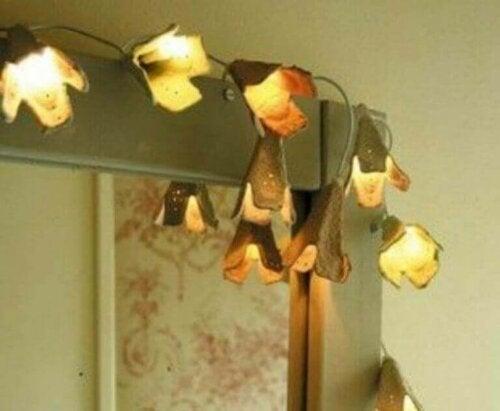 5 dekorative objekter du kan lave med æggebakker