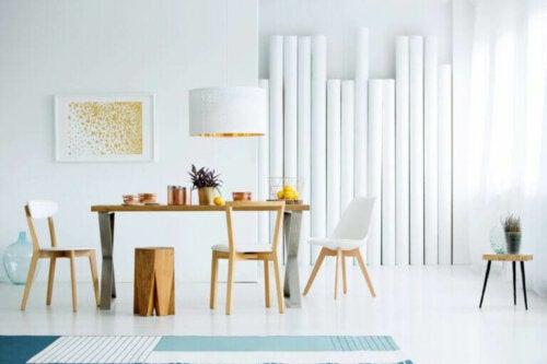 Gør brug af en modernistisk stil i dit hjem