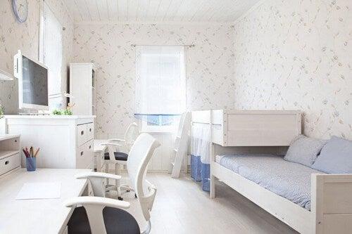 Sådan får du det meste ud af delte soveværelser