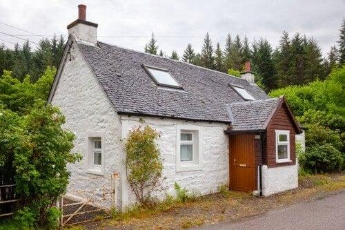 Steneksteriører kan skabe et smukt hjem