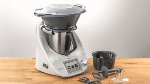 Højteknologisk køkkenmaskine