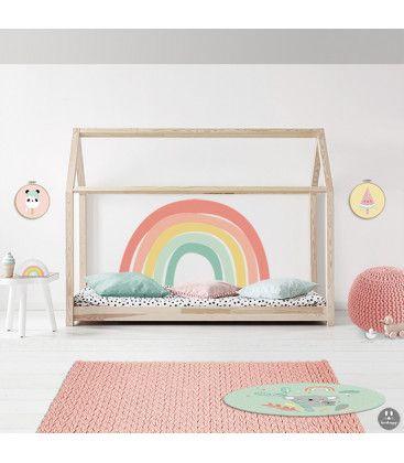 regnbuens farver børneværelse