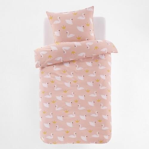 Lyserødt sengetøj til børneværelset