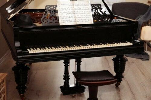 4 måder til at bruge et klaver i din indretning
