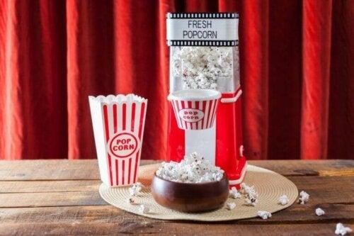 De bedste popcorn-maskiner