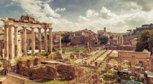 Hvordan var indretningen i den romerske æra?