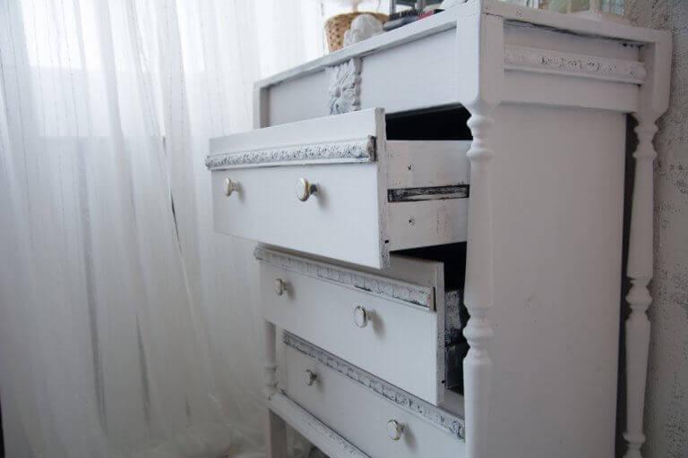 Chiffoniére: 4 typer til små soveværelser