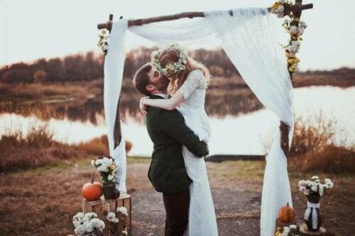 4 idéer til bryllupsdekorationer om efteråret