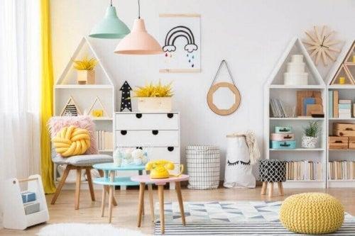Sådan skaber du et børneområde i hjemmet