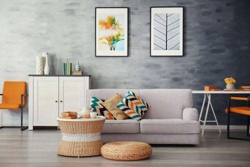 rengjort stue
