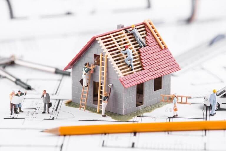 Præfabrikeret små hjem, der er nemme at sætte op